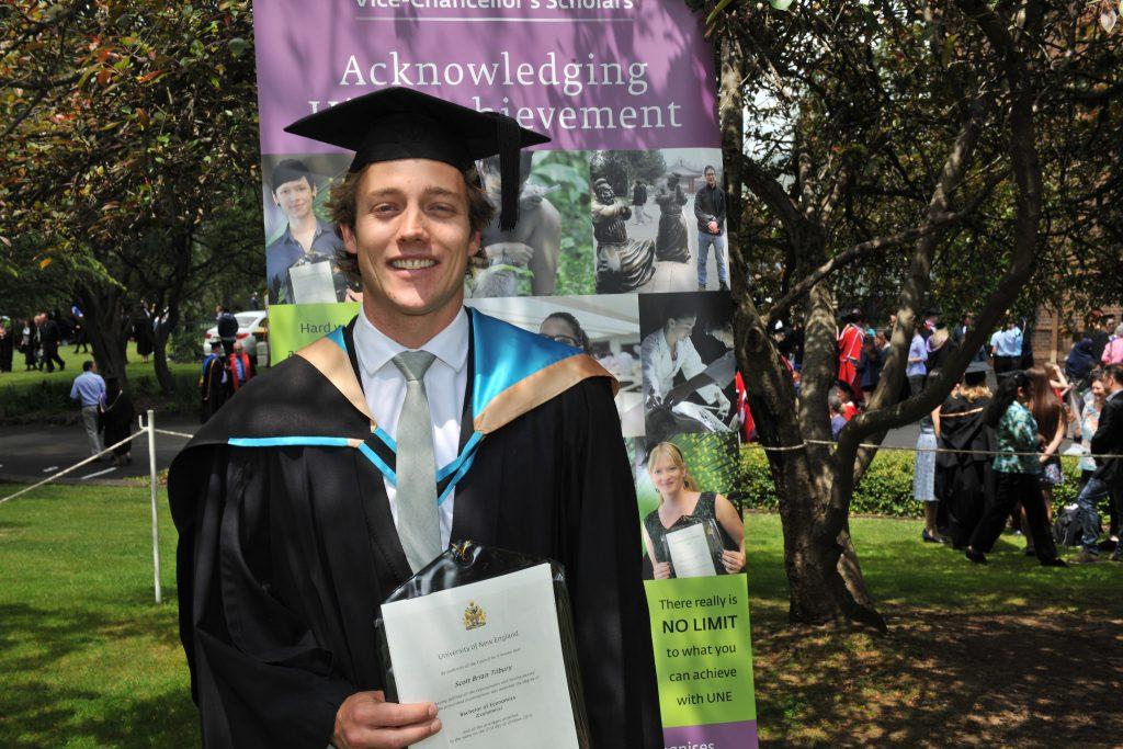 Scott Tilbury - BEcon - VC Scholar