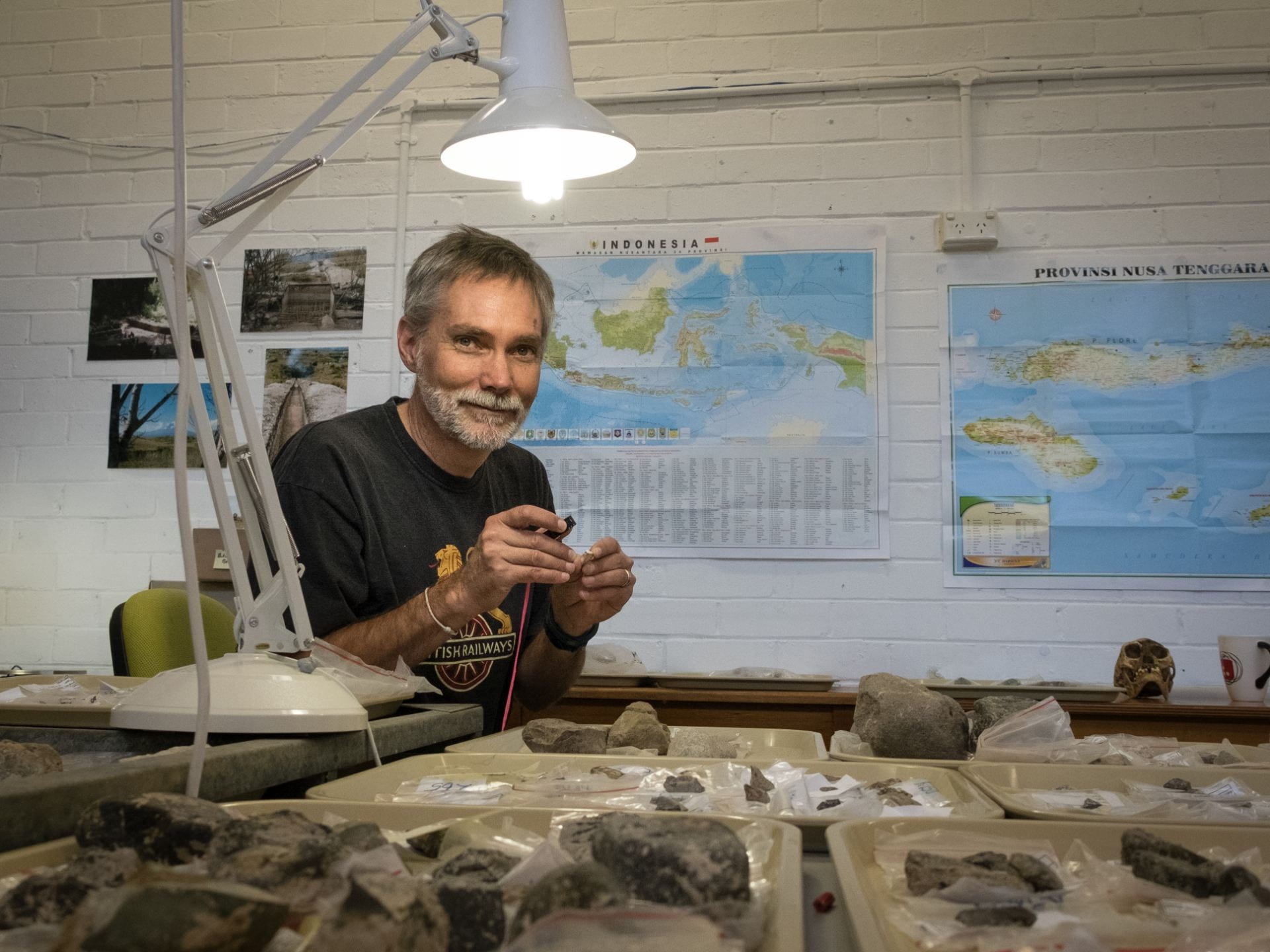 """Archaeology emerged as the obvious career choice"""