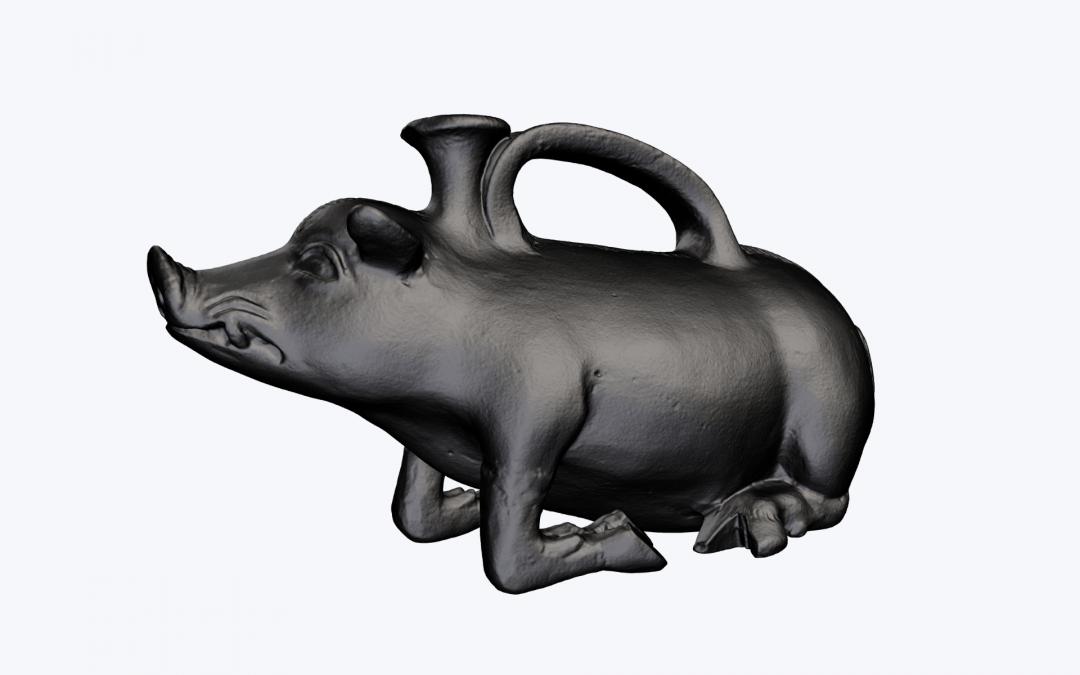 Hidden details revealed in 3D scanning project
