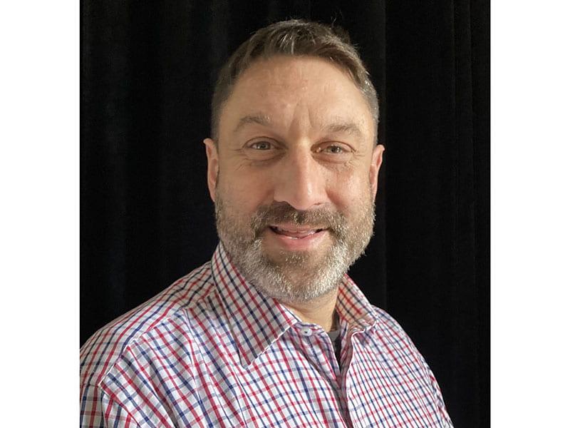 Portrait image of criminologist Dr Alistair Harkness