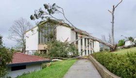 Storm Damage to Armidale Campus