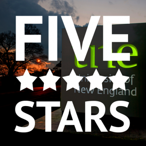 UNE again rated five stars