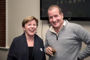 Prof. Alison Sheridan and Prof. David Lamb at the launch