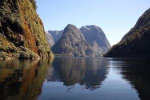 Doubtful Sound, in New Zealand's Fjiordland.