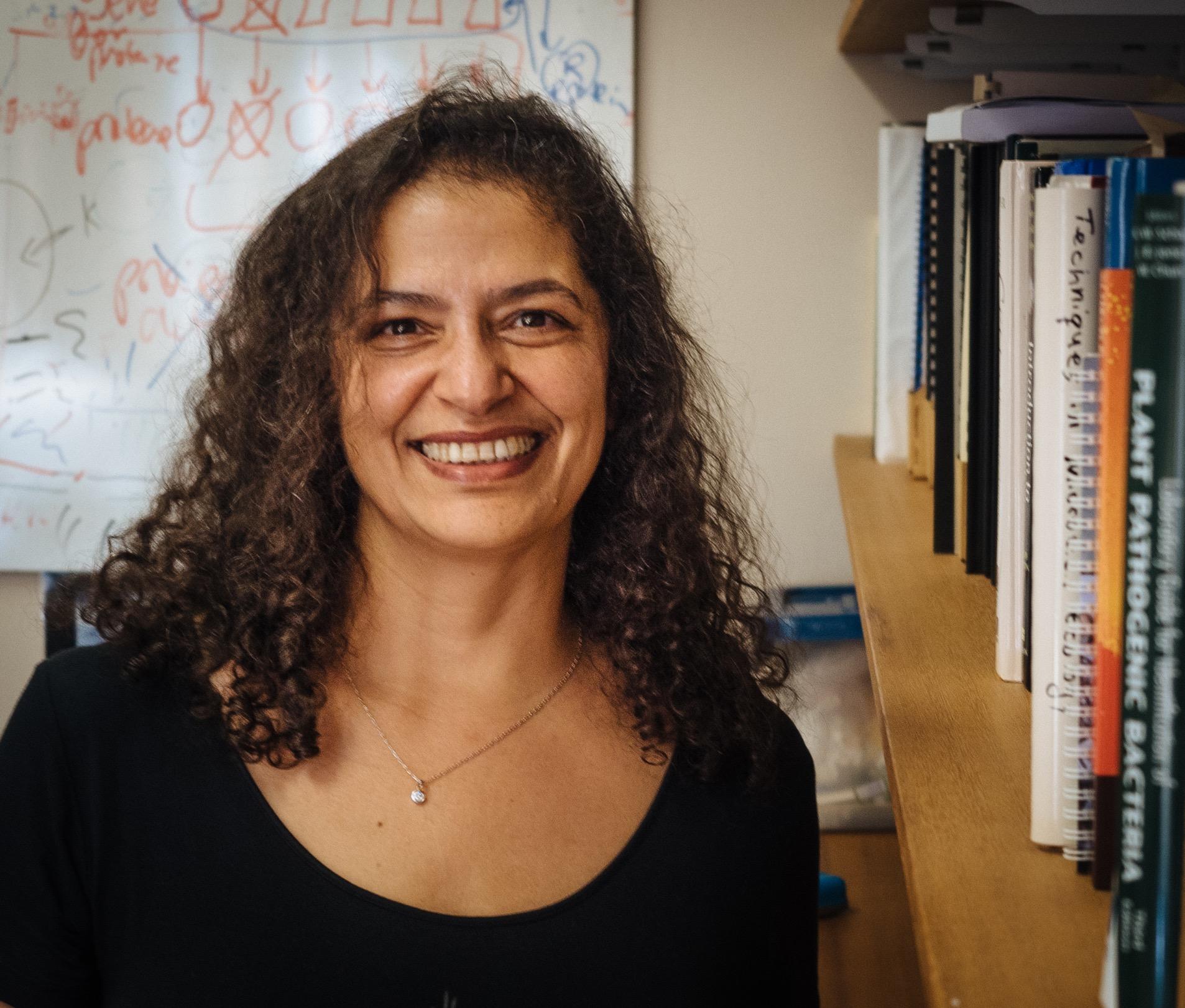 UNE microbiologist Associate Professor lily Pereg.