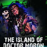 Cast from the rock musical 'The Island of Dr Moron'