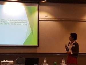 Ligia presenting her paper in Coffs Harbour