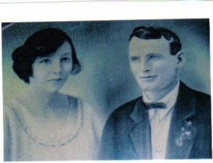 Grace with her husband
