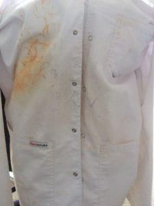clean lab coat