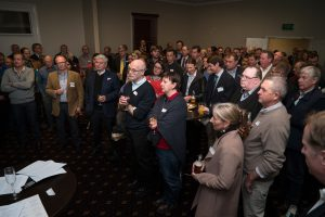 A crowd of over 100 guests came to celebrate the launch of the Centre, as well as the great work of UNE's IFAMA student team.