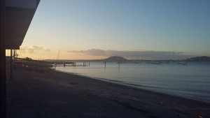 Okahu Bay evening training session