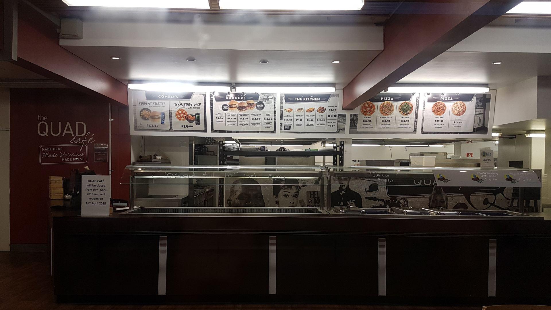 Restaurant at campus