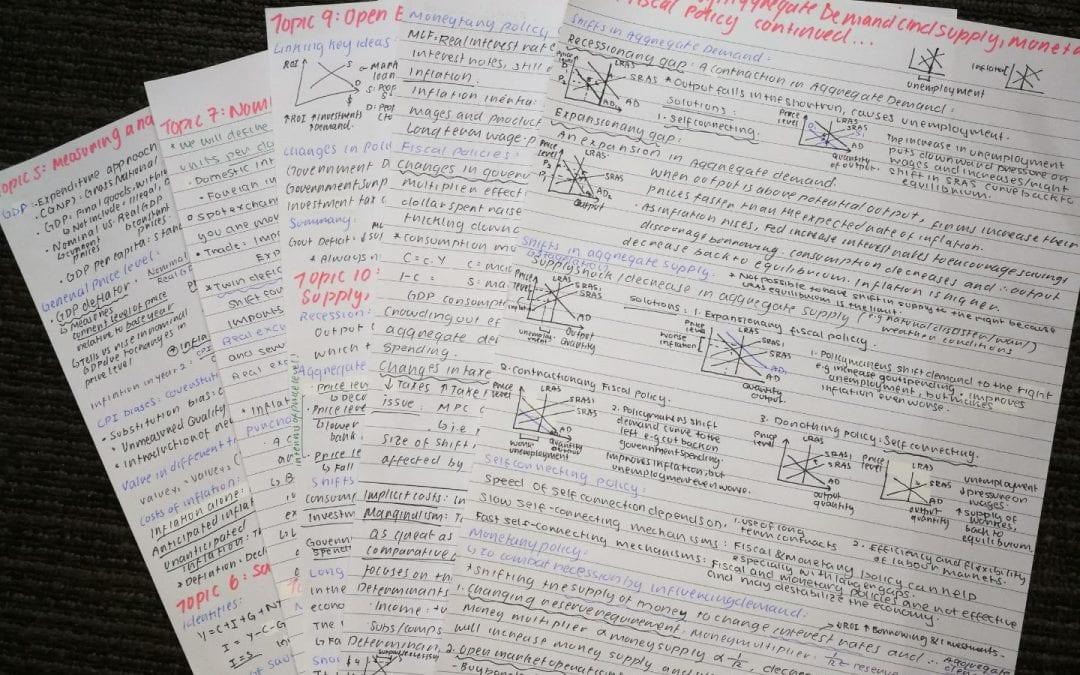 Cecilia's Declassified Exam Survival Guide.