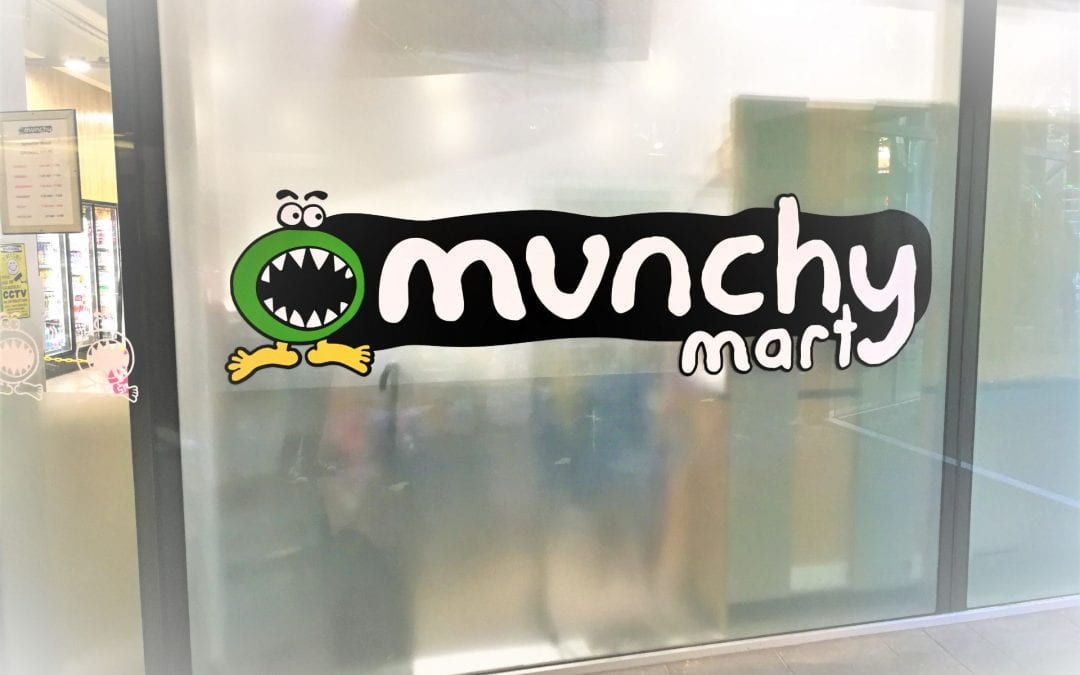 Trying foods from Munchy Mart!
