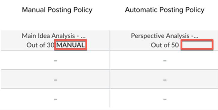 Automatic vs Manual Posting