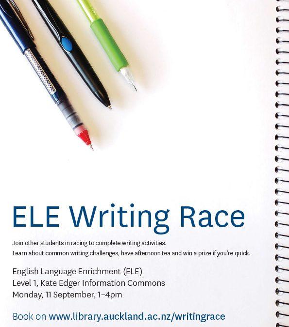 English Language Enrichment – The Amazing Race