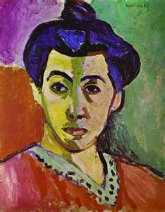 matisse, portrait of Mme Matisse