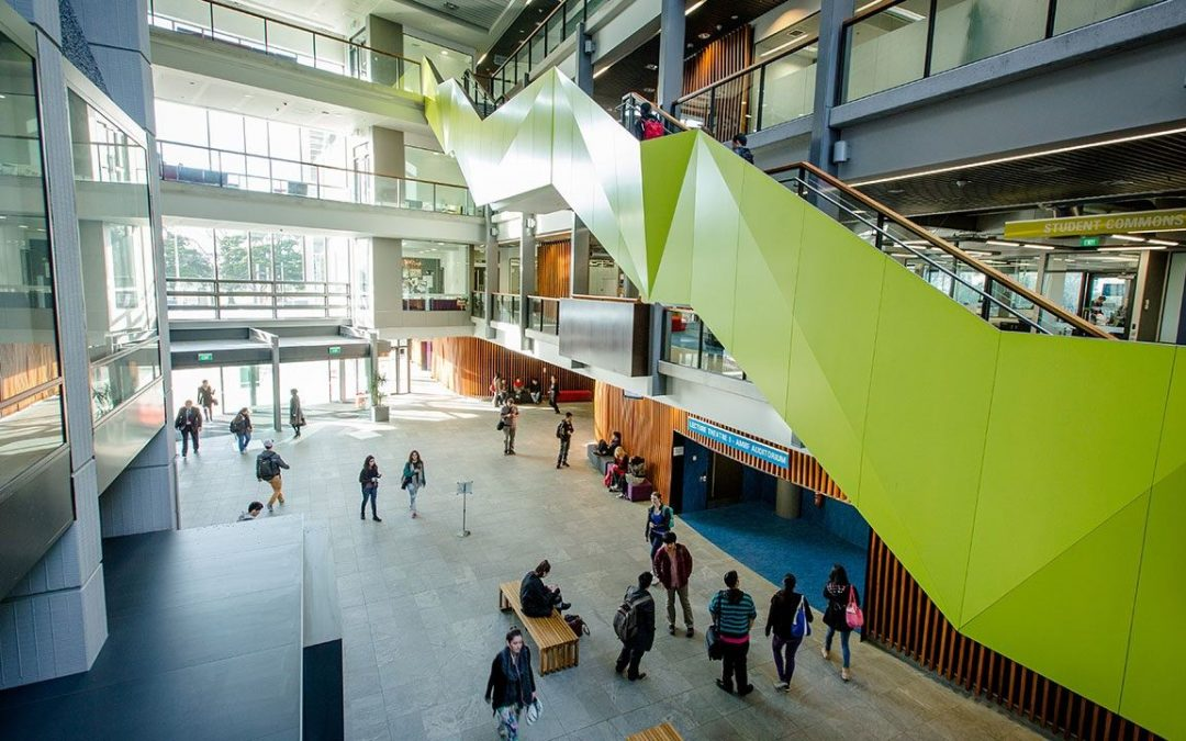 Picture from inside the Grafton atrium