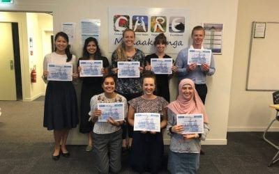 Students take part in the Rural Health Interprofessional Programme