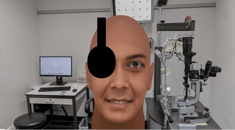 Teaching – 3D eyes and face