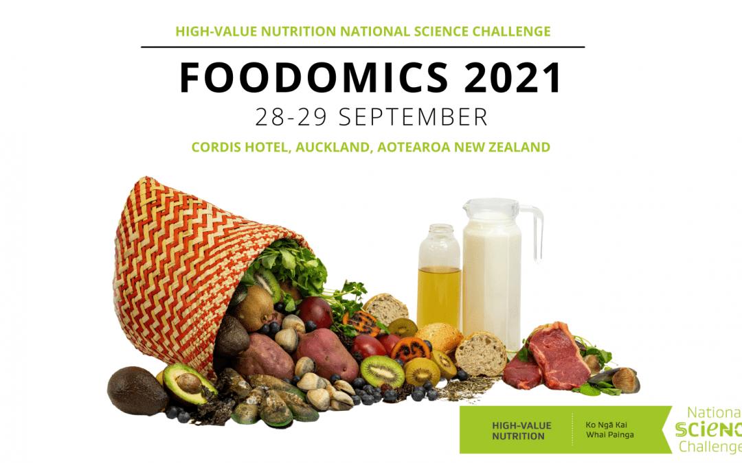 Foodomics 2021 – Keynote speakers confirmed – Register now