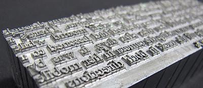 Holloway Press type