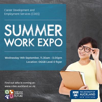 Summer work expo