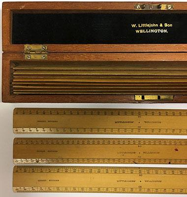 Scale rules, W. Littlejohn & Son