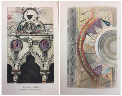 plates from John Ruskin Stones of Venice