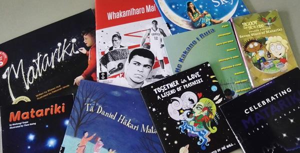Selection of books about Matariki