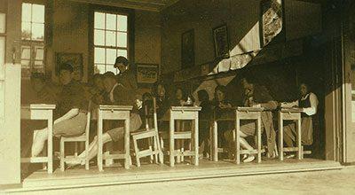 Kaikohe Native School classroom, 1939