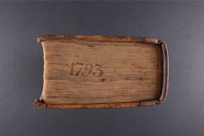 Inscribed rare book