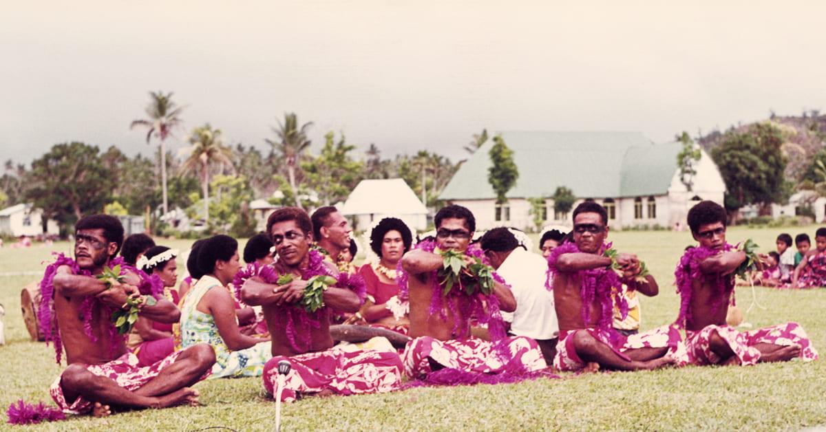 Meke veli, Tubou, Lakeba Island, Lau Province, Fiji