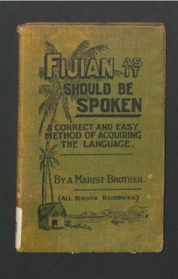Cover of Fijian language lessons
