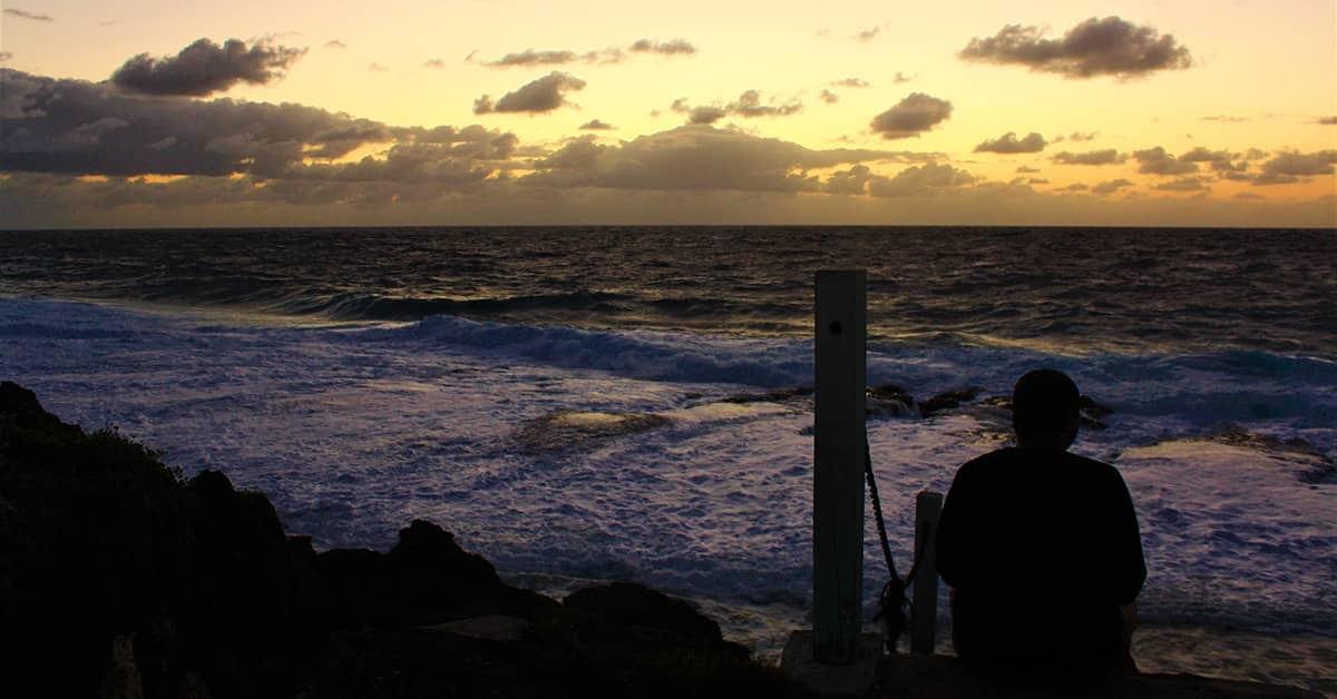 Sunrise in Hakapu, Niue