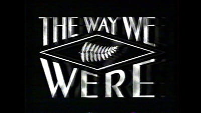 Logo image for the documentary series: The Way We Were