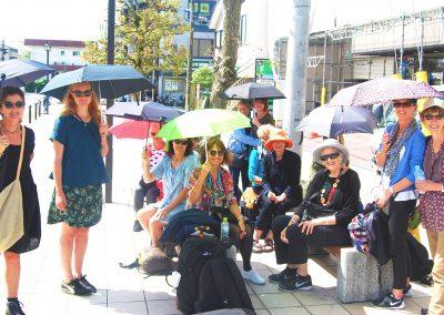 Umbrellas in Kyoto, Japan