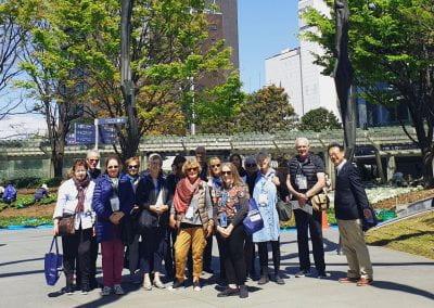 2019 Tour group, Mori Art Museum, Tokyo