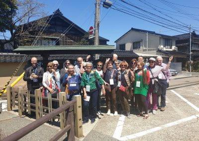 2019 Tour group, Nomura Samurai House, Kanazawa