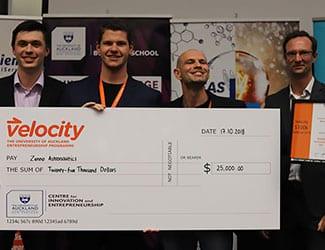 Velocity $100k Challenge winners look to the stars