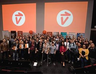 The 2018 Velocity Innovation Challenge prize winners.