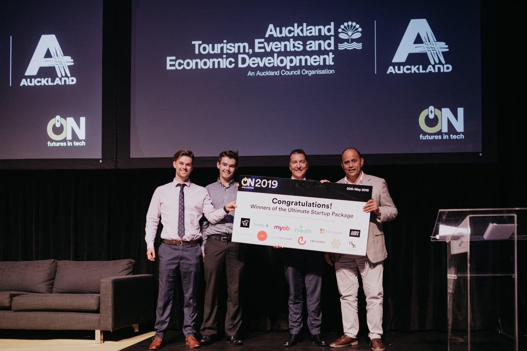 Prosthetics student innovators win TechWeek pitch competition