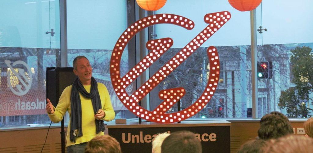 Ken Erskine at VentureLab Celebration