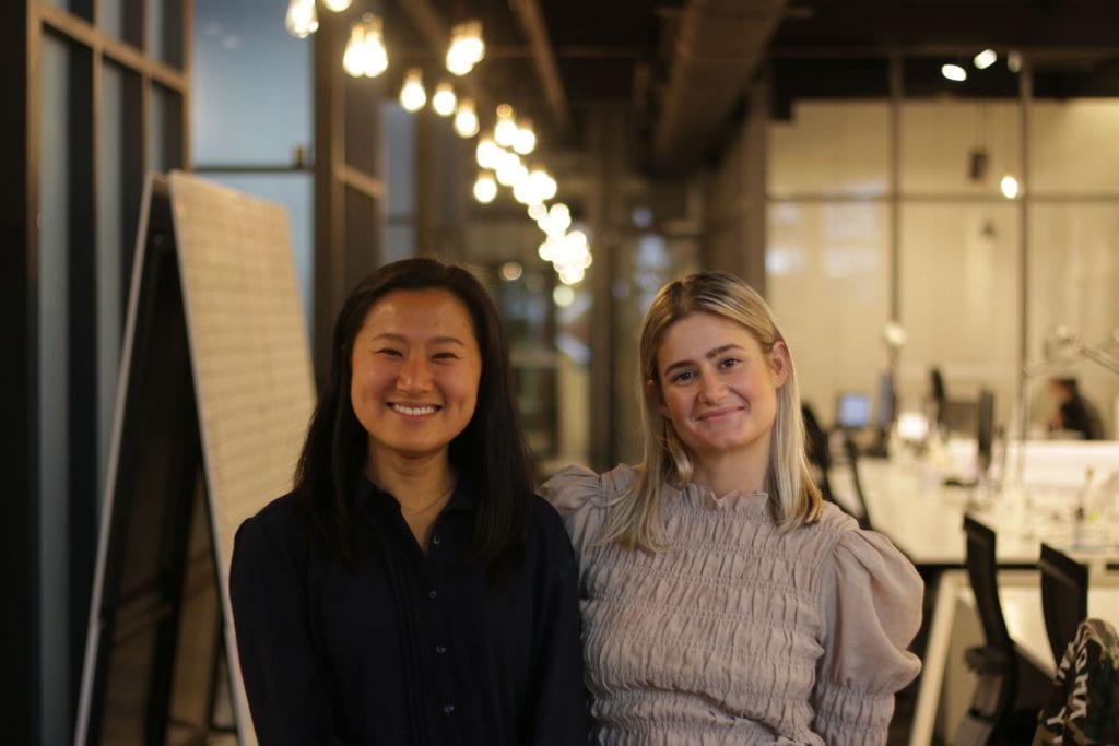 Izzy Fenwick and Shirlee Xue