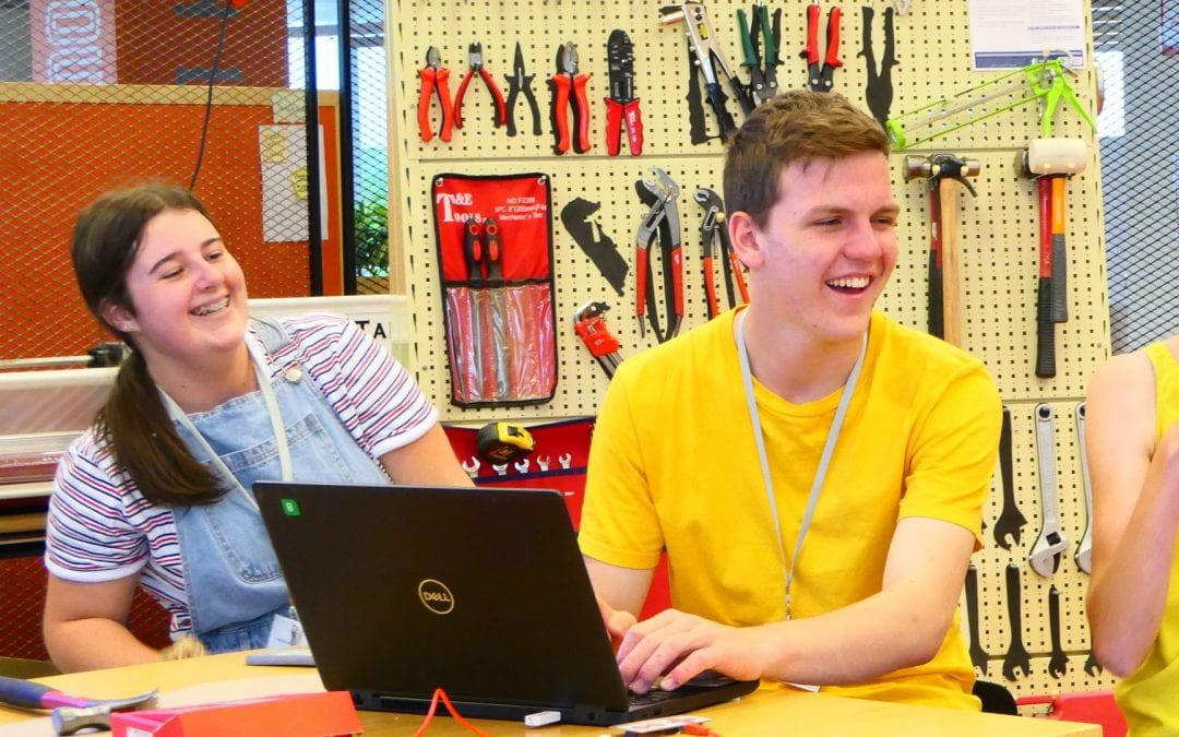 University maker space hosts top secondary school students