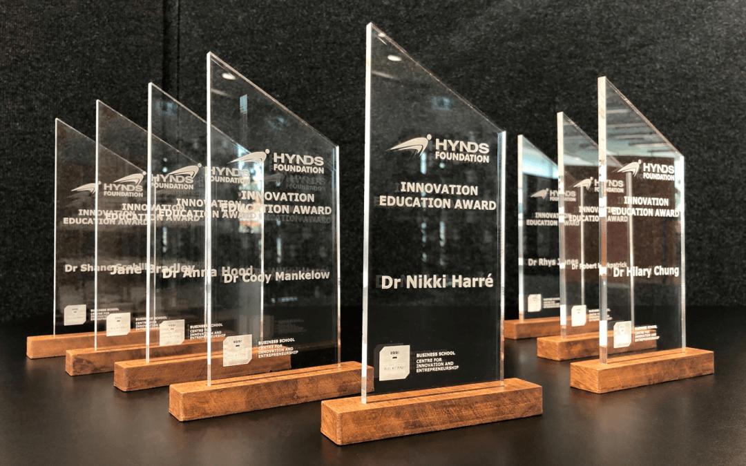 Hynds Innovation Education Award winners announced