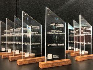 Hynds Innovation Education Awards trophy