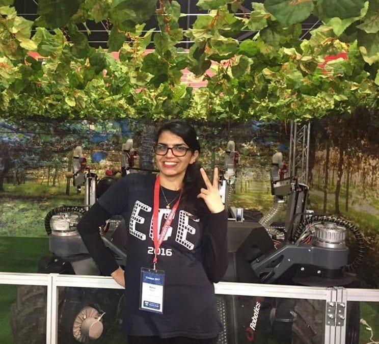 Meet a roboticist: Mahla Nejati, PhD student