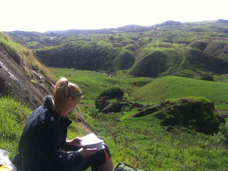 Field work in the Waikato, 2013
