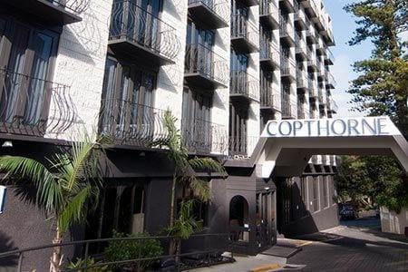 Copthorne Hotel forecourt